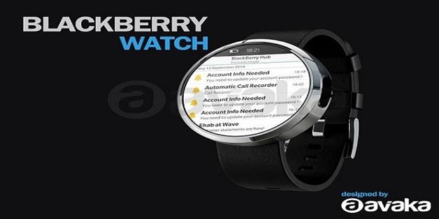 Sắp có smartwatch thương hiệu BlackBerry?