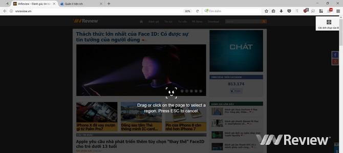 Trải nghiệm sớm tính năng Firefox Screenshots sắp phát hành - ảnh 6