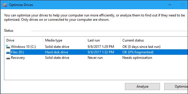 Ổ cài Windows cần để trống bao nhiêu dung lượng?