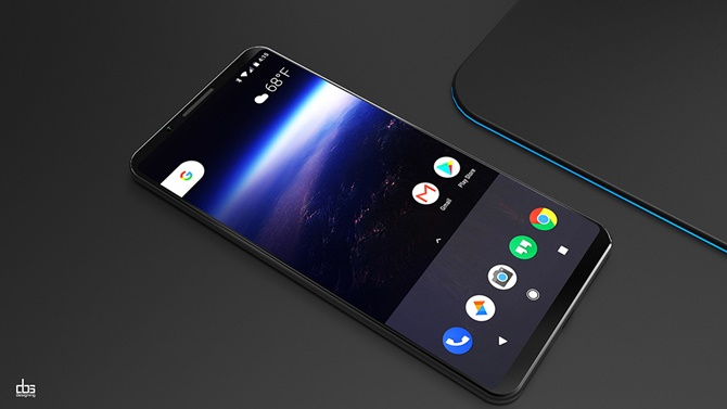 """Google Pixel 2 sẽ được trang bị tính năng """"bóp"""" để điều khiển của HTC"""