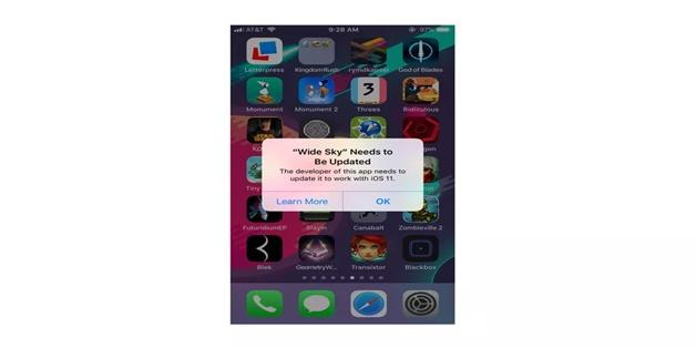 Cách phát hiện 187.000 ứng dụng không chạy được trên iOS 11