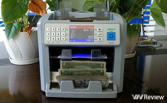 mua máy đếm tiền ở đâu sẽ đảm bảo hàng chính hãng
