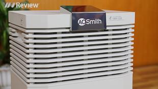 Trải nghiệm máy lọc không khí A.O. Smith KJ500F-B01: lọc được bụi siêu nhỏ, chạy êm