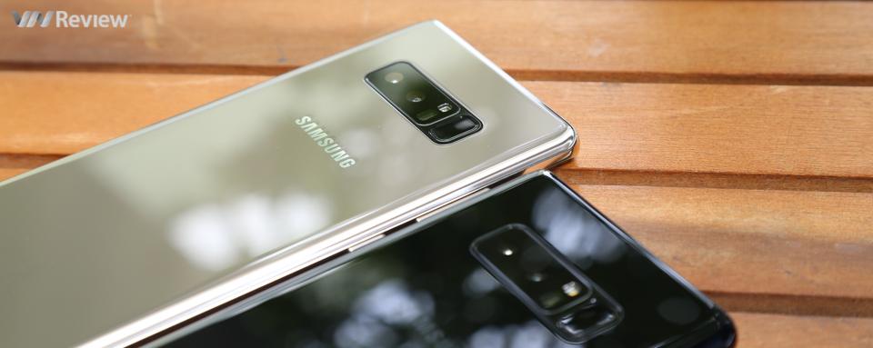 Mở hộp Samsung Galaxy Note8 chính hãng