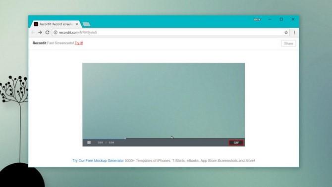 5 ứng dụng quay phim màn hình định dạng GIF cho Windows 10