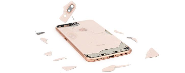 Mổ iPhone 8 Plus: mặt lưng kính cực khó tháo, điểm sửa chữa 6/10