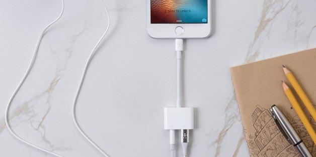 Belkin giới thiệu adapter cho phép vừa nghe nhạc vừa sạc cho iPhone 7/8