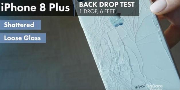 Thử nghiệm thả rơi iPhone 8, iPhone 8 Plus và Note 8: vỡ ngay lần đầu thả rơi!