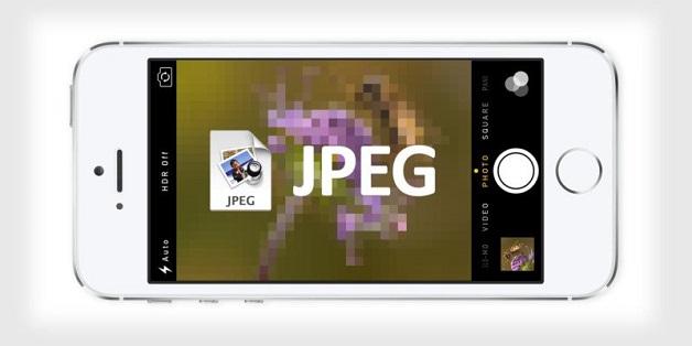 Cách chụp ảnh JPEG trên iOS 11 cho iPhone