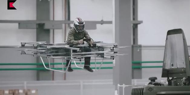 Nga phát triển thành công xe bay hoverbike phục vụ quân sự