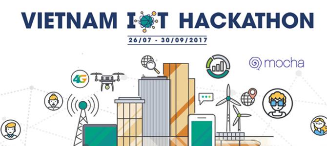 Viettel công bố 17 đội lọt vào vòng chung kết Vietnam IOT Hackathon 2017