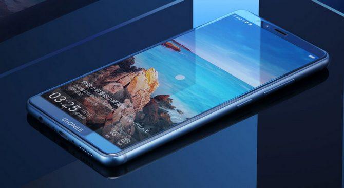 Gionee M7 ra mắt với camera kép, màn FullView, RAM 6GB