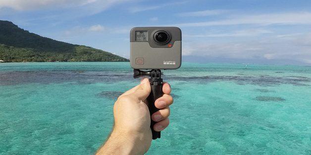 GoPro Fusion trình làng: Quay 360 độ và 5.2K, chụp ảnh 18MP