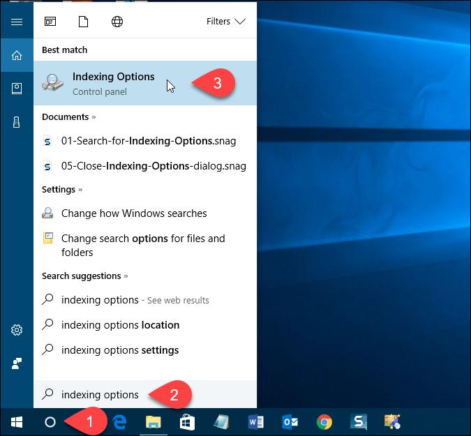 Cách ẩn file, folder khỏi kết quả tìm kiếm trên Windows 10