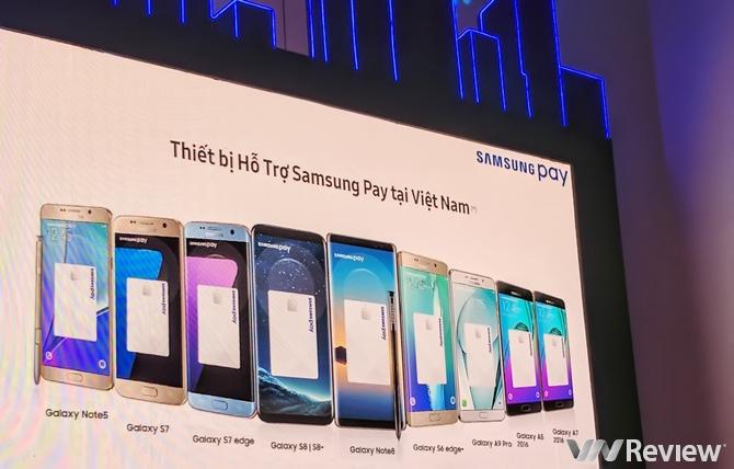 Samsung chính thức triển khai giải pháp thanh toán di động Samsung Pay tại Việt Nam
