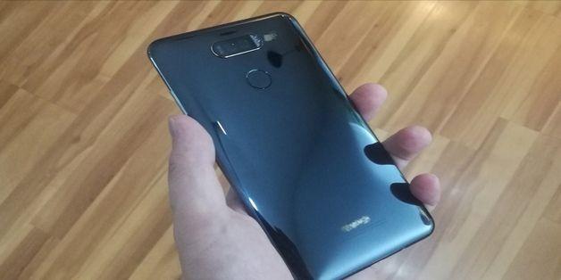 Lộ mặt sau Huawei Mate 10 Pro, mặt sau khá giống LG V-series