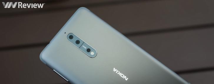 Cận cảnh Nokia 8 chính hãng tại Việt Nam: RAM 4GB, camera kép Zeiss