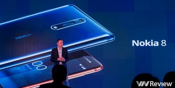 Nokia 8 tại Việt Nam có giá 13 triệu đồng, bán ra từ 16/10