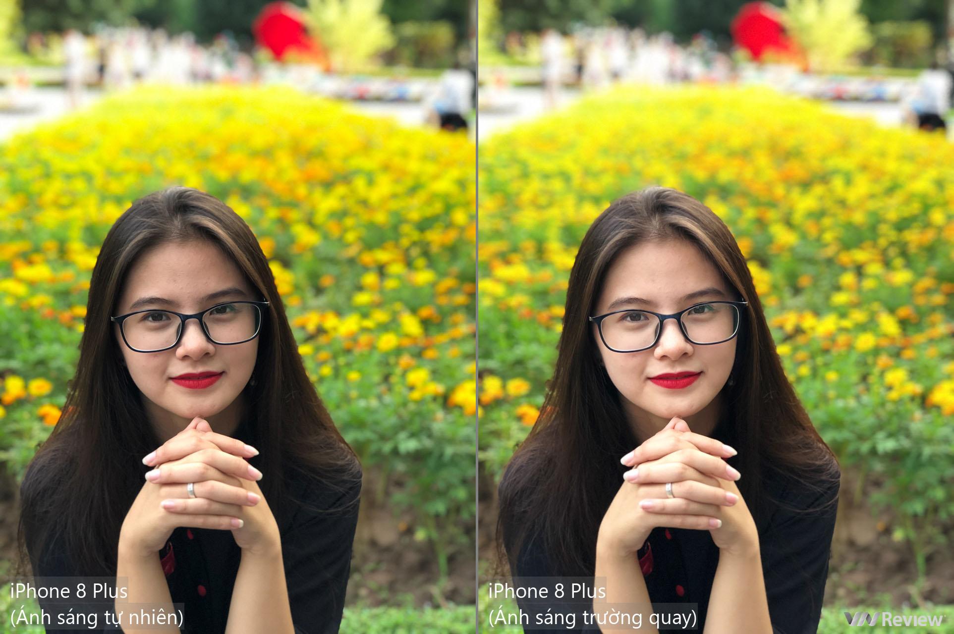 Đọ chi tiết camera chân dung: iPhone 8 Plus và Galaxy Note 8 - VnReview -  Đánh giá