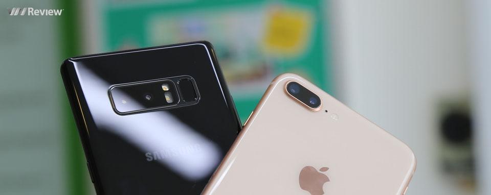 Đọ chi tiết camera chân dung: iPhone 8 Plus và Galaxy Note 8
