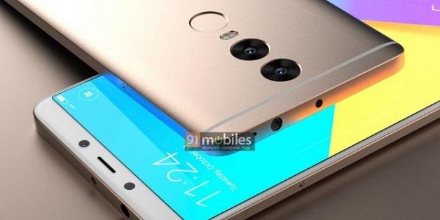 Lộ diện Xiaomi Redmi Note 5: viền mỏng, camera kép giá từ 4 triệu đồng