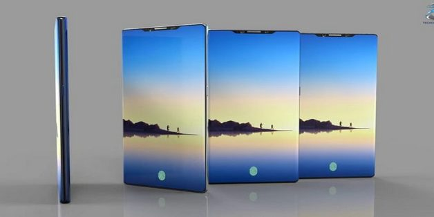 Xem concept Galaxy Note 9 với màn hình tràn cạnh 95%