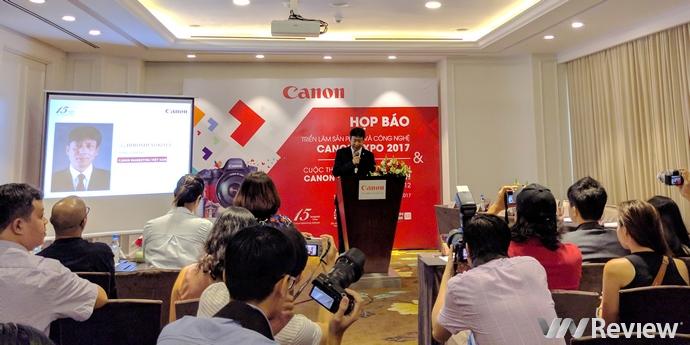 Triển lãm Canon EXPO sẽ khai mạc vào ngày 26/10 tới, có cả PhotoMarathon