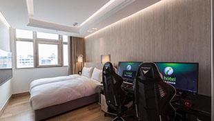 Khách sạn trang bị PC hạng nặng cho game thủ tại Đài Loan