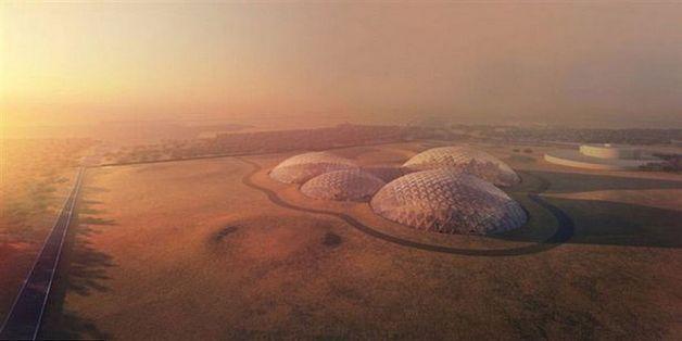 Dubai xây dựng thành phố mô phỏng cuộc sống trên Sao Hỏa giữa lòng sa mạc