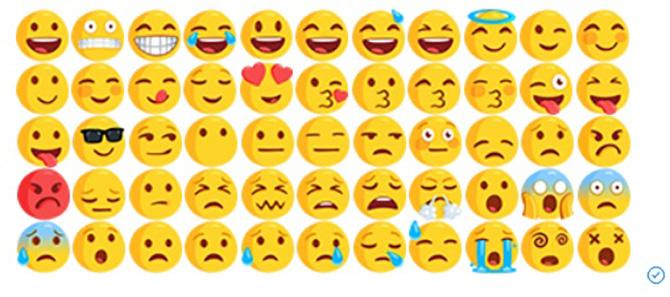 Facebook và Messenger sắp dùng chung một bộ emoji ảnh 1