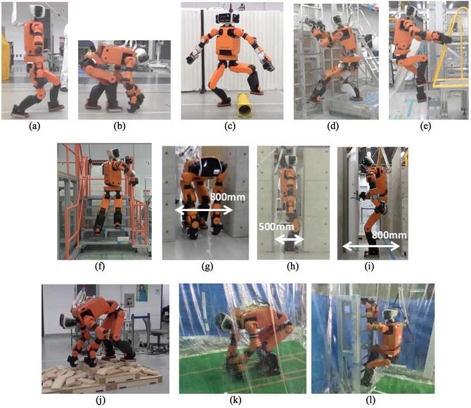 Honda phát triển robot cứu hộ có thể leo thang như người ảnh 2