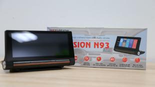 """Trải nghiệm Webvision N93: camera hành trình """"kép"""", dẫn đường bằng giọng nói"""