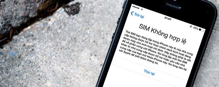 """Cách sửa lỗi SIM ghép 4G """"thần thánh"""" cho iPhone khóa mạng"""