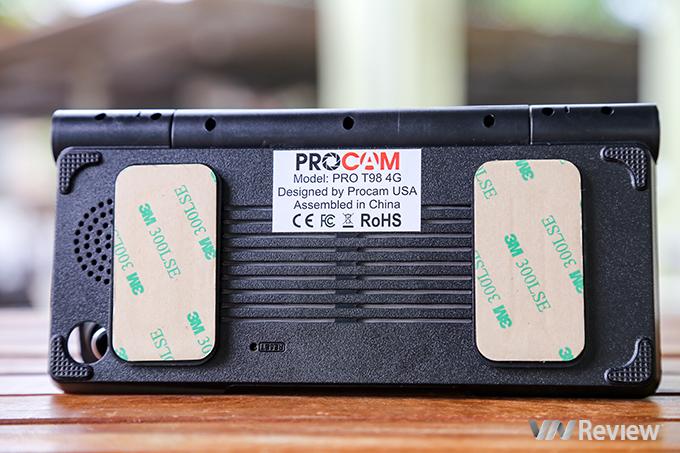Trải nghiệm camera hành trình ProCam T98 giá 3,9 triệu đồng: camera kép, có 4G, phát được Wi-Fi - ảnh 3