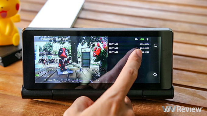 Trải nghiệm camera hành trình ProCam T98 giá 3,9 triệu đồng: camera kép, có 4G, phát được Wi-Fi - ảnh 12