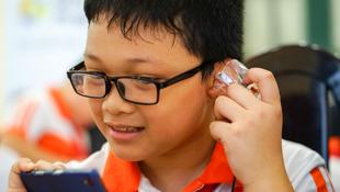 """Sony Science Program: chương trình tập làm """"kỹ sư nhí"""" cho học sinh"""