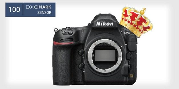 Nikon D850 chạm ngưỡng kỷ lục 100 điểm trên DxOMark