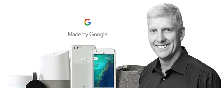 Tham vọng của Google dưới góc nhìn của sếp phần cứng Rick Osterloh