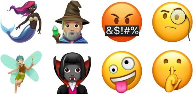 Hàng trăm emoji mới sẽ xuất hiện trên iOS 11.1 cho iPhone và iPad