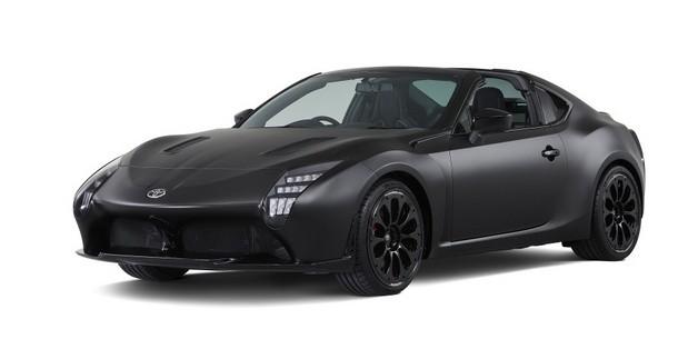 Ngắm concept Toyota GR HV Sports mạnh mẽ với thân hình đen bóng