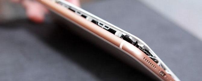 Hiện tượng phồng pin trên iPhone 8 có thể là vấn đề lớn của ngành di động