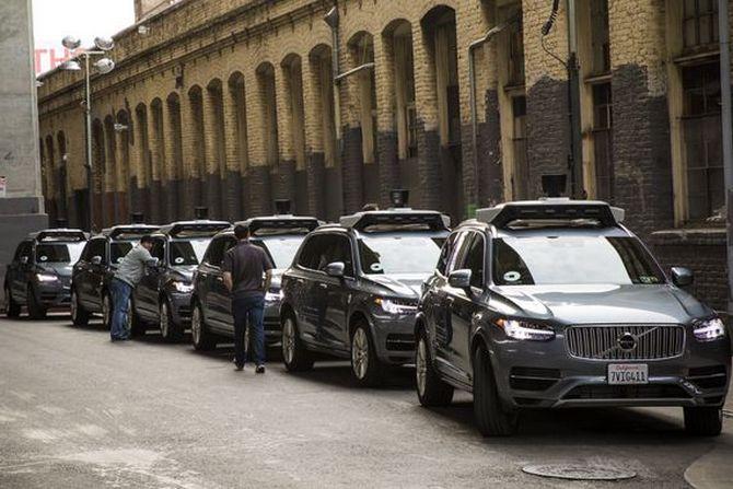 Đây là cách Uber dạy xe tự lái đi trên đường - ảnh 1