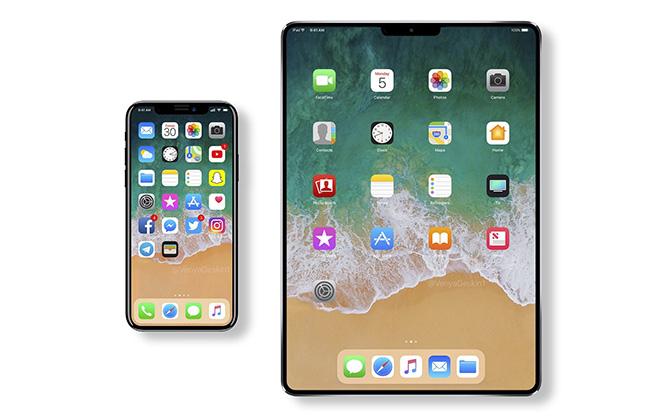 iPad Pro sẽ là thiết bị tiếp theo được trang bị Face ID sau iPhone X.