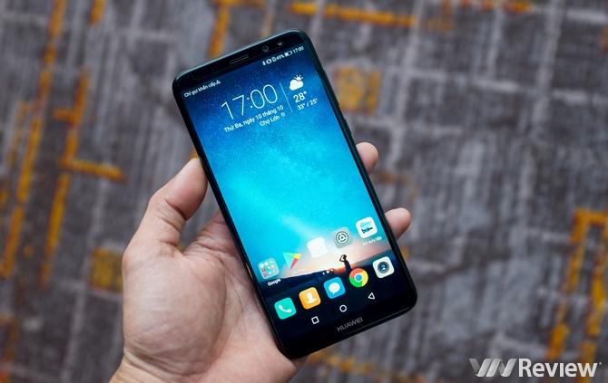 Huawei Nova 2i ra mắt: 4 camera, 4GB RAM, màn hình tràn viền, giá 6 triệu đồng