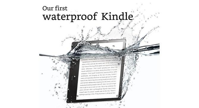 Amazon giới thiệu Kindle Oasis: 7 inch, chống nước, tích hợp âm thanh, thân kim loại