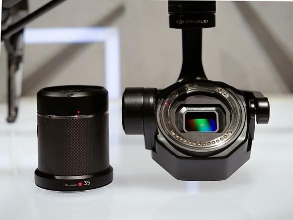 DJI ra mắt Zenmuse X7: camera drone 6K hỗ trợ làm phim chuyên nghiệp - ảnh 2