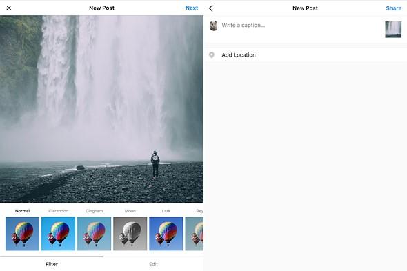 Đăng ảnh từ máy tính lên Instagram bằng ứng dụng Windowsed - ảnh 2