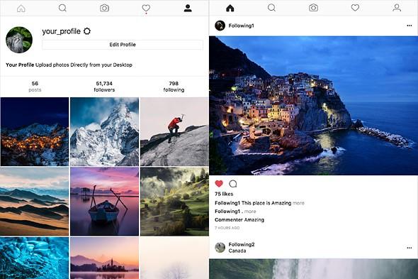Đăng ảnh từ máy tính lên Instagram bằng ứng dụng Windowsed - ảnh 1