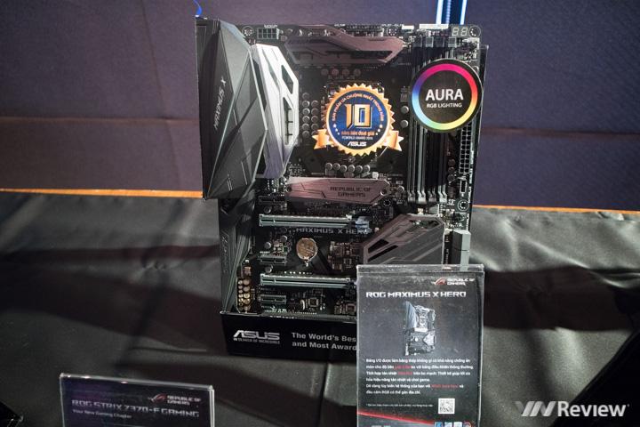 Asus mang về Việt Nam 15 mẫu bo mạch chủ Z370, sẵn sàng cho Coffee Lake - ảnh 4