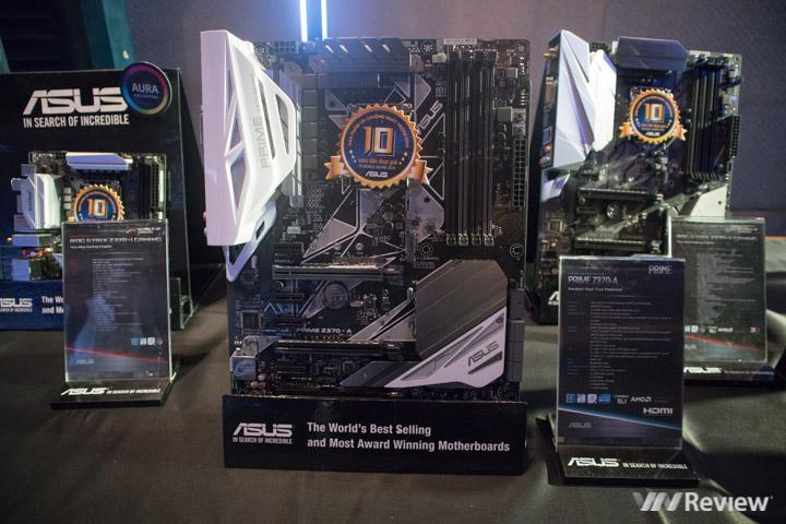 Asus mang về Việt Nam 15 mẫu bo mạch chủ Z370, sẵn sàng cho Coffee Lake - ảnh 6